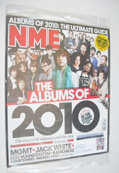 <!--2010-01-16-->NME magazine - The Albums of 2010 cover (16 January 2010)