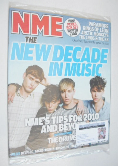 <!--2010-01-09-->NME magazine - The Drums cover (9 January 2010)