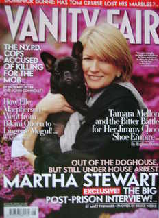 <!--2005-08-->Vanity Fair magazine - Martha Stewart cover (August 2005)