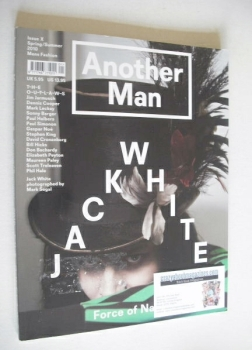 Another Man magazine - Spring/Summer 2010 - Jack White cover