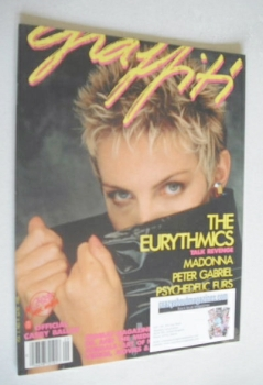 Graffiti magazine - Annie Lennox cover (Vol. 2 No. 9 - 1986)