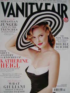 <!--2008-01-->Vanity Fair magazine - Katherine Heigl cover (January 2008)
