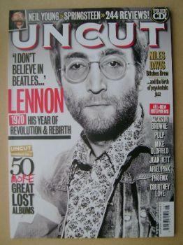 Uncut magazine - John Lennon cover (August 2010)