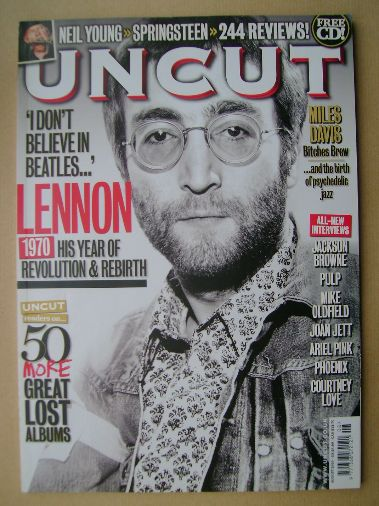 <!--2010-08-->Uncut magazine - John Lennon cover (August 2010)