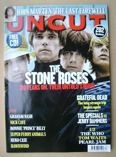 <!--2009-04-->Uncut magazine - The Stone Roses cover (April 2009)