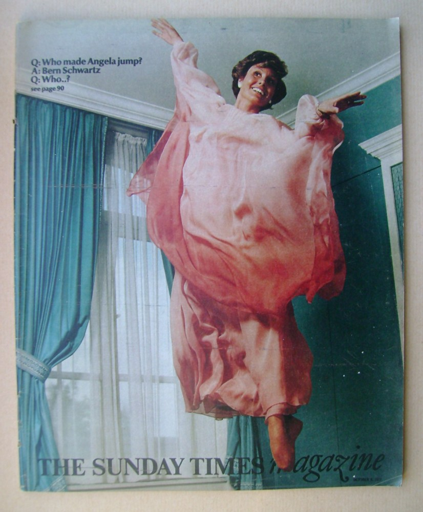 <!--1977-10-09-->The Sunday Times magazine - Angela Rippon cover (9 October