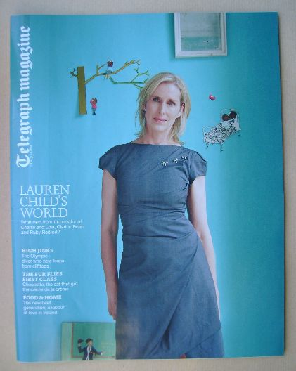 <!--2014-08-30-->Telegraph magazine - Lauren Child cover (30 August 2014)