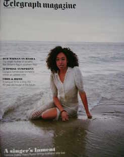 <!--2010-01-23-->Telegraph magazine - Corinne Bailey Rae cover (23 January