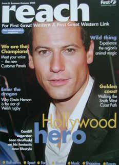Reach Magazine - Ioan Gruffudd cover (Issue 5 - Summer/Autum 2005)