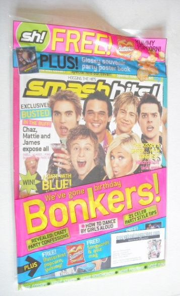 <!--2003-11-12-->Smash Hits magazine - Birthday Bonkers cover (12-25 Novemb