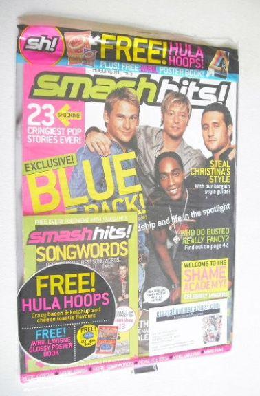 <!--2003-09-17-->Smash Hits magazine - Blue cover (17-30 September 2003)