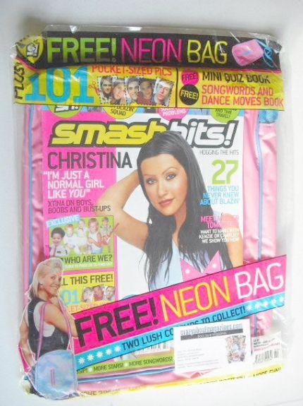<!--2003-05-28-->Smash Hits magazine - Christina Aguilera cover (28 May - 1