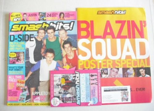 <!--2003-06-25-->Smash Hits magazine - D-Side cover (25 June - 8 July 2003)