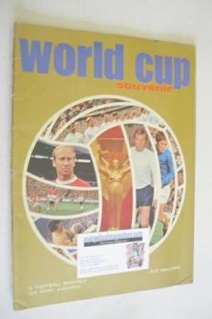World Cup Souvenir magazine (1970)