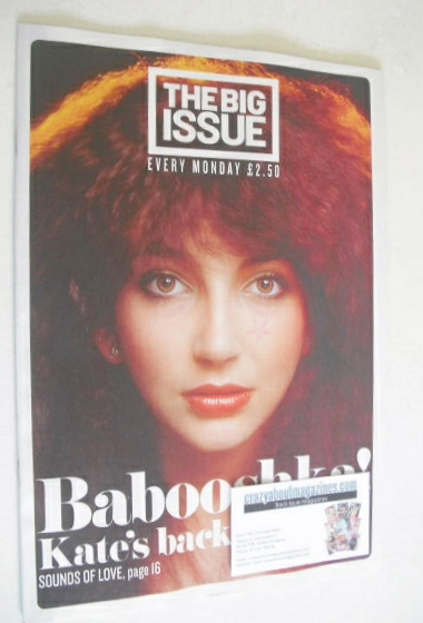 <!--2014-08-18-->The Big Issue magazine - Kate Bush cover (18-24 August 201