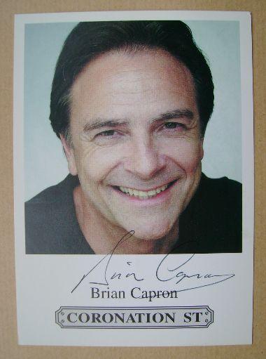 Brian Capron autograph (hand-signed cast card)
