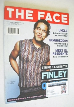 The Face magazine - Finley Quaye cover (August 1998 - Volume 3 No. 19)