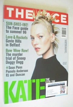 The Face magazine - Kate Moss cover (May 1996 - Volume 2 No. 92)
