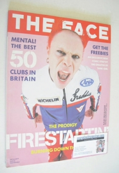 The Face magazine - Keith Flint cover (July 1996 - Volume 2 No. 94)