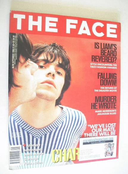 <!--1996-09-->The Face magazine - Tim Burgess cover (September 1996 - Volum