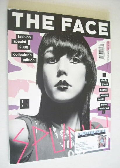 <!--2000-09-->The Face magazine - Fashion Special 2000 cover (September 200