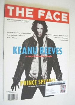The Face magazine - Keanu Reeves cover (December 1991 - Volume 2 No. 39)