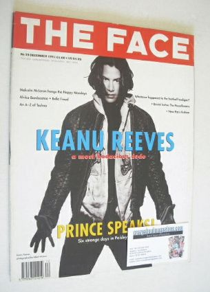 <!--1991-12-->The Face magazine - Keanu Reeves cover (December 1991 - Volum