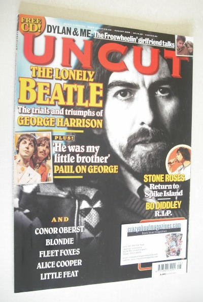 <!--2008-08-->UNCUT magazine - George Harrison cover (August 2008)