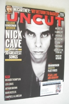 Uncut magazine - Nick Cave cover (September 2010)