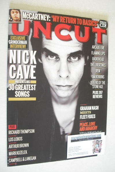 <!--2010-09-->Uncut magazine - Nick Cave cover (September 2010)