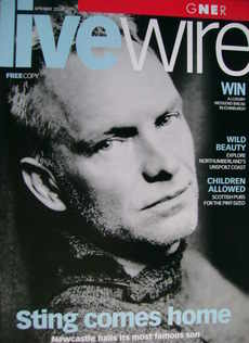 Livewire Magazine - Sting cover (April/May 2004)