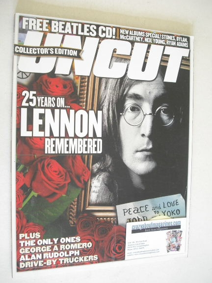 <!--2005-10-->Uncut magazine - John Lennon cover (October 2005)