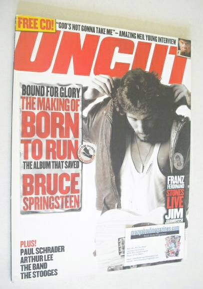 <!--2005-11-->Uncut magazine - Bruce Springsteen cover (November 2005)