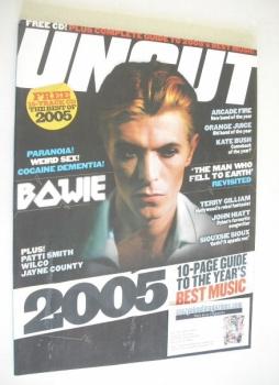 Uncut magazine - David Bowie cover (December 2005)