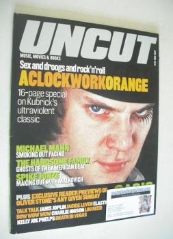 Uncut magazine - Malcolm McDowell cover (April 2000)