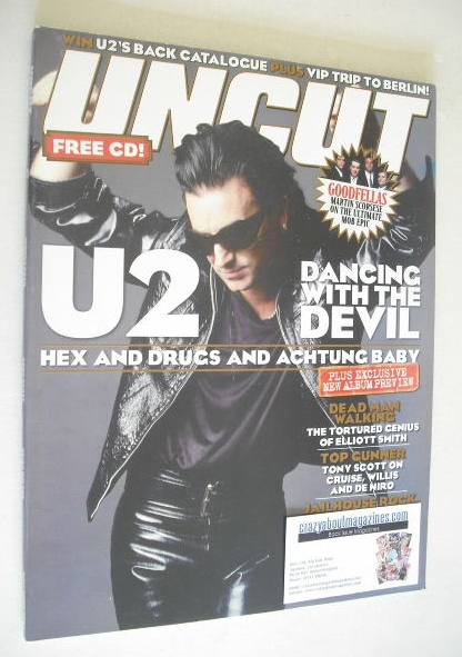 <!--2004-11-->Uncut magazine - Bono cover (November 2004)