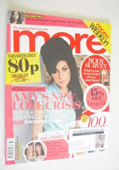 More magazine - Amy Winehouse cover (17 September 2007)