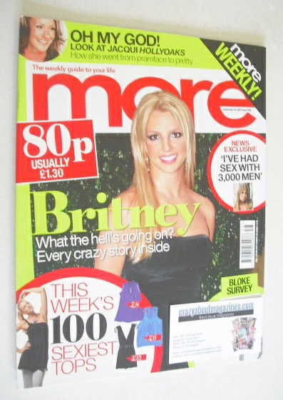<!--2007-09-24-->More magazine - Britney Spears cover (24 September 2007)
