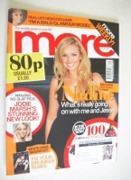 <!--2007-10-01-->More magazine - Nadine Coyle cover (1 October 2007)