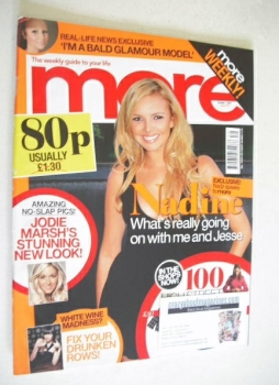 More magazine - Nadine Coyle cover (1 October 2007)