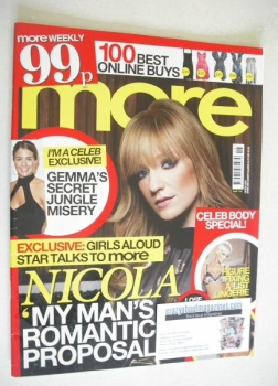 More magazine - Nicola Roberts cover (19 November 2007)