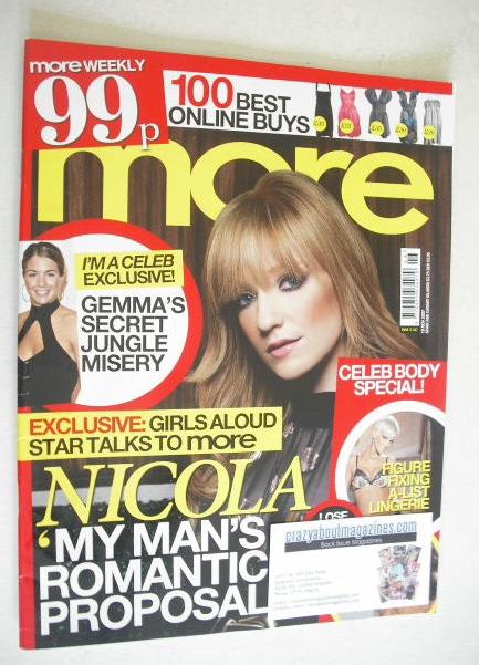 <!--2007-11-19-->More magazine - Nicola Roberts cover (19 November 2007)