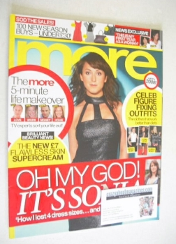 More magazine - Natalie Cassidy cover (7 January 2008)