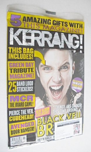 <!--2014-09-06-->Kerrang magazine - Andy Biersack cover (6 September 2014 -