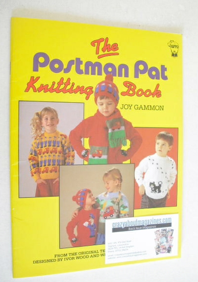 Postman Pat Knitting book