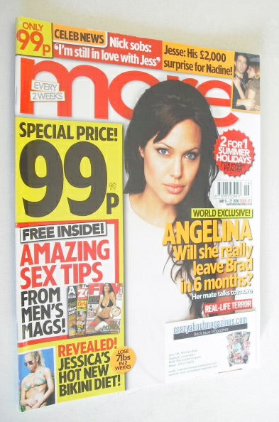 <!--2006-05-09-->More magazine - Angelina Jolie cover (9-22 May 2006)