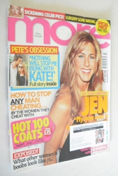 More magazine - Jennifer Aniston cover (25 October - 7 November 2005)