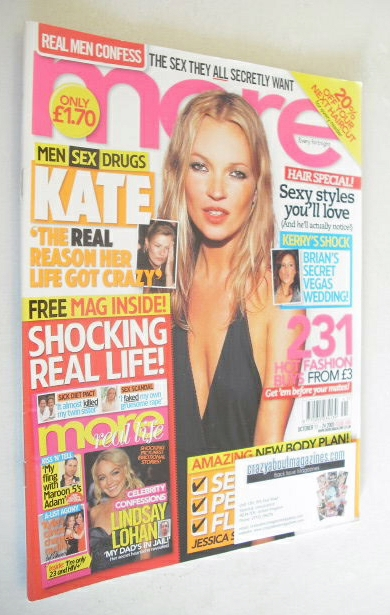 <!--2005-10-11-->More magazine - Kate Moss cover (11-24 October 2005)