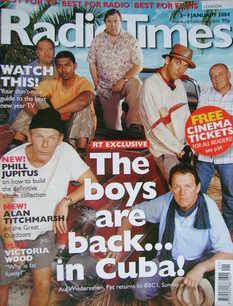 <!--2004-01-03-->Radio Times magazine - Auf Wiedersehen Pet cover (3-9 Janu