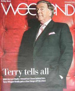 <!--2009-12-26-->Weekend magazine - Terry Wogan cover (26 December 2009)